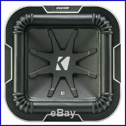 Kicker Solo-Baric S8L72 1-Way 8 inch Car Subwoofer Dual 2 Ohm 8 L7 Solo Baric