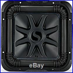 L7S 10-Inch (25cm) Subwoofer, Dual Voice Coil, 4-Ohm 600W