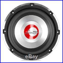 Lanzar OPTI1032D Optidrive Series 10 Inch Sub 650W Rms 2 Ohm Dual Vc Subwoofer