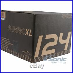 MASSIVE AUDIO SUMMOXL 124 6000W 12 inch Dual 4 Ohm Car Subwoofer Subs Package