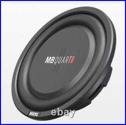 MB Quart DS1-204 400 Watt 8 Inch Shallow DVC 4 Ohm Car Subwoofer Speaker Pair