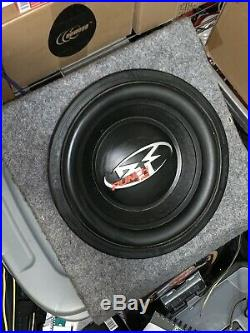 MINT 12 Inch Rockford Fosgate Punch HX2 Subwoofer Dual 4 Ohms RFD2212 in Box