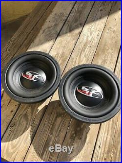 MINT CONDITION Old School Rockford Fosgate Punch Hx2 10 Inch Subwoofer Dual 4ohm