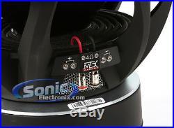 MTX 2000 Watt 15 inch Dual 4 Ohm Thunder 9500 Car Audio Sub Subwoofer T951544