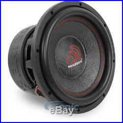 Massive Audio HIPPOXL122 4000 Watt 12 inch 2 ohm Hippo Series Car Subwoofer Sub
