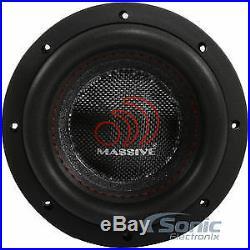 Massive Audio HIPPO XL 64 600 Watt 6.0 Inches Dual 4 Ohm Car Subwoofer Open Box