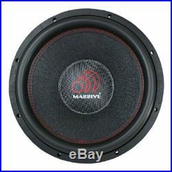 Massive Audio Hippo XL 122 12 Inch Subwoofer Dual Voice Coil 2 Ohm 4000W