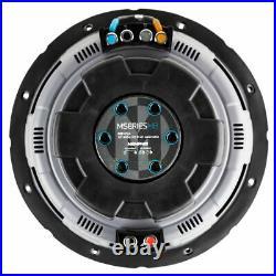 Memphis Audio Mb1024 10 Sub 1000w Max 4-ohm 2-ohm Subwoofer Bass Speaker New