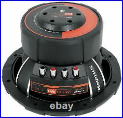Memphis Audio Mjp1022 10 Mojo Pro 1500w Max Dual 2-ohm Subwoofer Bass Speaker