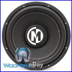 Memphis Br12s4 12 Sub 800w Car Audio Single 4-ohm Subwoofer Bass Speaker New
