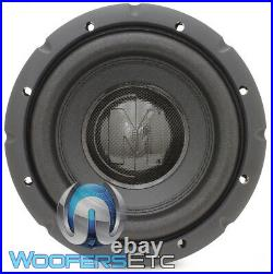Memphis Brx840 8 Sub 250w Rms Single 4-ohm Car Audio Subwoofer Bass Speaker New