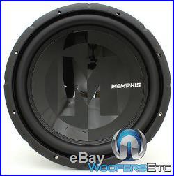Memphis Prx1544 15 Sub 600w Max Dual 4-ohm Car Audio Subwoofer Bass Speaker New