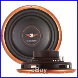 NEW 10 2ohm Subwoofer Shallow Depth Mount Bass Speaker. Sub. 500w. Slim Fit. 10in