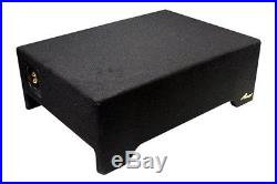 NEW 10 Shallow Mount Subwoofer Bass Speaker. 4ohm. Enclosure Box. Slim Fit. 600W