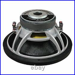 NEW 12 DVC Subwoofer Bass. Replacement. Speaker. Dual 4 ohm Voice Coil. Car Sub