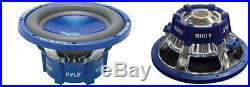 NEW (2) 10 DVC SubWoofer Speakers. Dual 4ohm voice coil. Ten inch bass PAIR. 10in