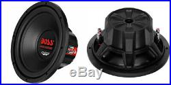 NEW (2)10 DVC Subwoofer Bass. Replacement Speakers. 4ohm. Sub. Dual VoiceCoil. PAIR