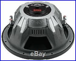 NEW (2) 10 DVC Subwoofers Bass. Replacement. Speakers. Dual 4 + 4ohm. Car Subs PAIR