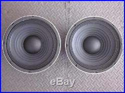 NEW (2) 10 Subwoofer Speaker. 8ohm. Ten inch bass guitar Cabinet Replacement Pair