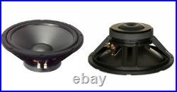 NEW (2) 12 4ohm Woofer Speakers. PAIR. Home Audio. Bass. Subwoofer. High quality