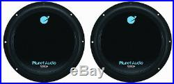 NEW (2) 12 DVC Subwoofers Bass. Replacement. Speakers. Dual 4+4ohm. Car Audio. 1800w
