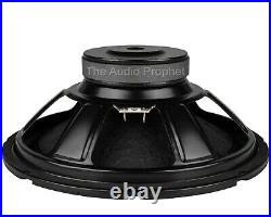 NEW (2) Pair 12 inch Heavy Duty Home Stereo Sub Woofer Speaker 4 ohm 480W