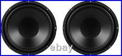 NEW (2) Pair 12 inch Heavy Duty Mega Bass 8 ohm Subwoofer Speaker Driver 480W