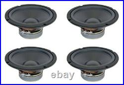 NEW 4Pack 8 Subwoofer Replacement Speakers. 8ohm. Replacement. Eight inch Woofer
