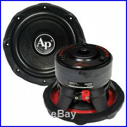 NEW 8 AP SVC Subwoofer Bass. Replacement. Speaker. 4ohm. Car Audio Sub. 8inch. 500w
