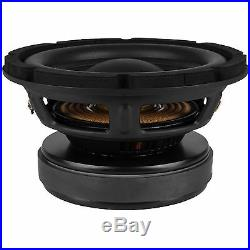 NEW 8 Subwoofer Speaker. 4 ohm. Home Audio Replacement. Eight inch. Bass. 300w. 8inch