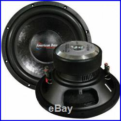 NEW AB 12 DVC 1000W Subwoofer Speaker. High Quality Bass Wooofer. Dual 4ohm. 12in