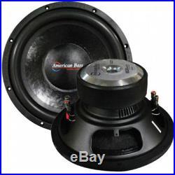 NEW AB 15 DVC 1400w Subwoofer Bass Speaker. Dual 4ohm. Woofer. Sub. High Quality