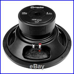 NEW AB 15 SVC Subwoofer Bass. Replacement. Speaker. 4ohm Sub. Woofer. 1000w. 15inch