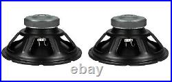 NEW Pair (2) 15 inch Classic Woofer Bass Speaker 500W 8 Ohm subwoofer Panasonic