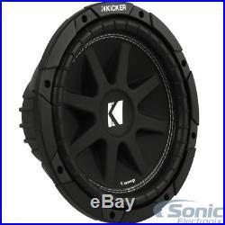 New (2) KICKER 43C104 Comp 10 inch 600 Watt SVC 4-ohm Car Audio Subwoofers Subs