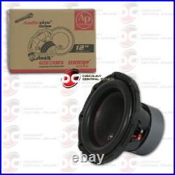 New Audiopipe 12-inch 12 Dual 4-ohm Car Audio Subwoofer 1800 Watts DVC