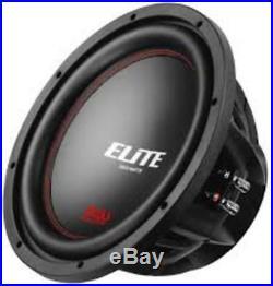 New Boss BE120DC Elite 12 inch DUAL Voice Coil (4 Ohm) 2600-watt Subwoofer