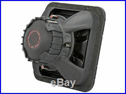New! Kicker 45L7R124 1200 Watts 12 Inches Dual 4 Ohm Square Car Audio Subwoofer