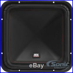 New! MTX S6512-44 1000 Watts 12 Inch S65 Series Dual 4 Ohm Car Audio Subwoofer