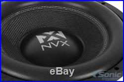 New! NVX VCW124 2000 Watts 12 Inches VC-Series Dual 4-ohm Car Audio Subwoofer
