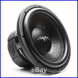 New Skar Audio Evl-12 D2 2500w Max Power 12-inch Dual 2 Ohm Spl/sq Car Subwoofer