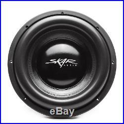 New Skar Audio Evl-12 D4 2500w Max Power 12-inch Dual 4 Ohm Spl/sq Car Subwoofer
