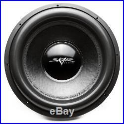 New Skar Audio Evl-18 D2 2500w Max Power 18-inch Dual 2 Ohm Spl/sq Car Subwoofer