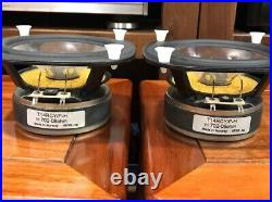 Norw seas H702 H702-08ohm T14RCY/P-H 5 inch Subwoofer Speaker a pair