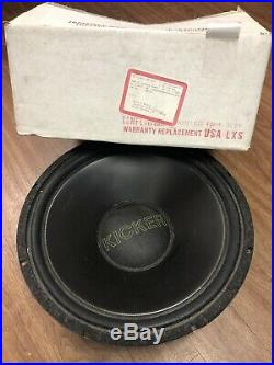 Old School Kicker Stillwater Seperates 15 Inch Subwoofers 4ohm C15 Competition
