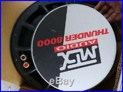 Old School MTX Thunder 8000 12-inch Subwoofer T8128 8 Ohm B7