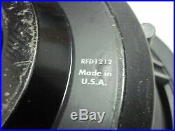 One Old School Rockford Fosgate Punch Hx2 Subwoofer 12 Inch Dual 4 Ohm RFD1212