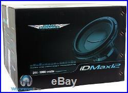 Open Box Image Dynamics Idmax12 V. 4 D4 Pro 12 Dual 4-ohm 1800w Max Subwoofer