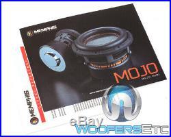 Open Box Memphis Mjm822 8 Mojo Mini Sub 1800w Dual 2-ohm Car Subwoofer Speaker