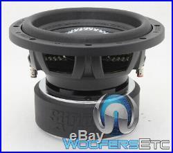 Open Box Sundown Audio Sa-12 V. 2 D4 10 Dual 4 Ohm 1000w Rms Subwoofer